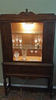 $250, antique china cabinet