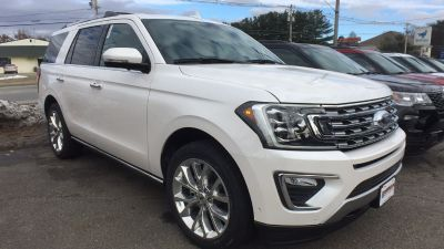 2019 Ford Expedition (White Platinum MET)