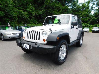 2007 Jeep Wrangler X (Stone White)