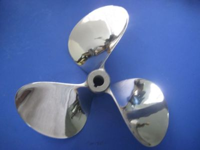 "Find 14 X 18 X 3 Stainless Steel Propeller, Left Hand, 1"" Taper for Ski Nautique motorcycle in Santa Ana, California, United States, for US $350.00"