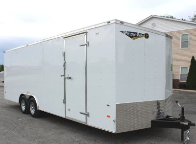 2019 24' Millennium Hornet Enclosed Trailer