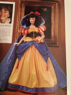 Snow White Porcelain Collector Doll