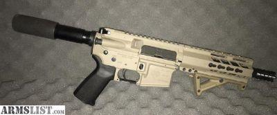 For Sale: Diamondback AR Pistol