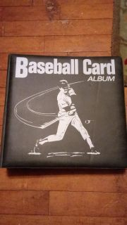 Baseball/Sports Card Album 81 open pages