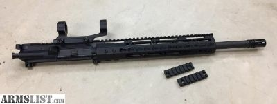 For Sale: New 18 AR15 complete upper, BCG & CH, Keymod handguard, 5.56/223 Socom barrel, and scope mount