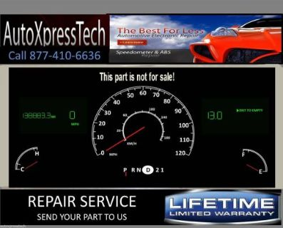 Sell 1999 Lincoln Town Car Digital Cluster Display odometer REPAIR SERVICE Fast BEST motorcycle in Brockton, Massachusetts, United States, for US $119.00