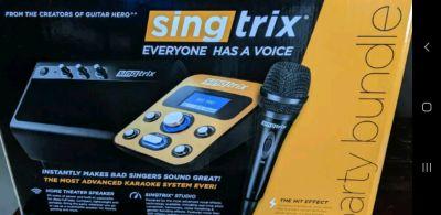 Singtrix karaoke singing machine