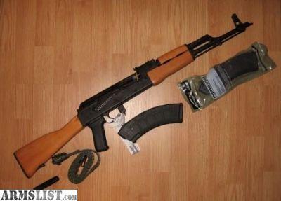 For Sale: AK47 WASR 10 Romanian 7.62x39 CAI Cugir