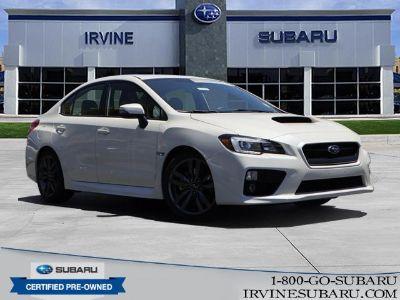 2017 Subaru WRX (Crystal White Pearl)