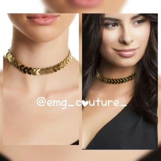 14k gold plated brass necklace