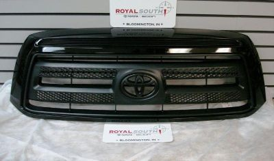 Purchase Toyota Tundra Rock Warrior Painted Black Grille Genuine OE OEM motorcycle in Bloomington, Indiana, US, for US $235.00