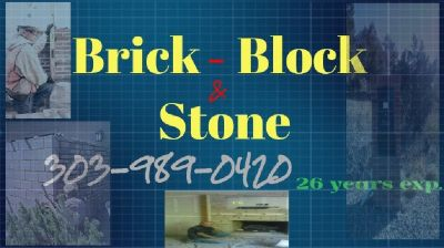 Brick Block and Stone ,  Bricklayer New construction and repairs