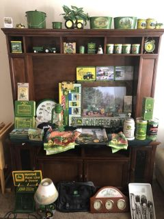 John Deere and Green Bay packers collections