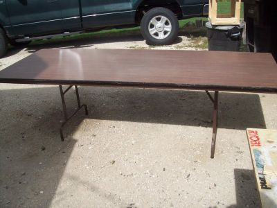 8ft lunch table x 3