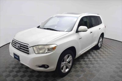 2008 Toyota Highlander Limited (Blizzard Pearl)