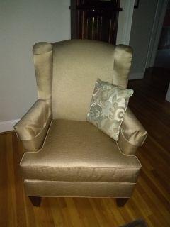 Wing Back Chairs ( 2 )