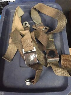 Bus seat belts 61-67