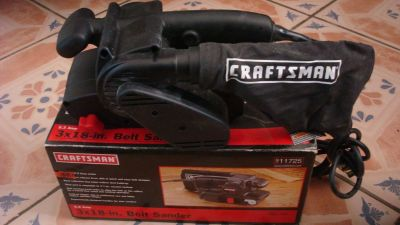 High power belt sander by craftman