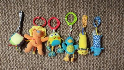 Carseat Toy Lot
