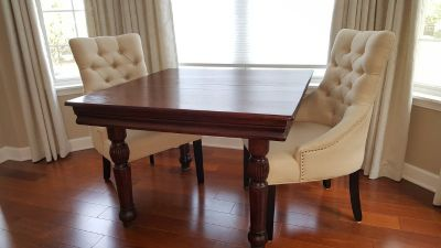 Beautiful! Antique Oak Dining Table