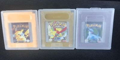 Pokemon Yellow, Gold and Silver!
