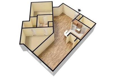 1 bedroom Apartment - Large & Bright