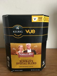 Newman's Own Organics Special Blend, Vue Cups for Keurig Vue Brewers, (16 Count)