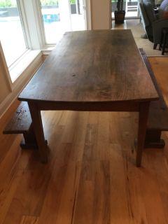 Antique Trunle Table