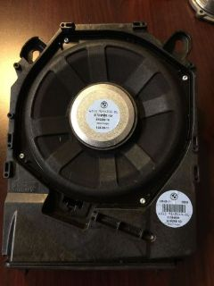 Sell BMW E90 E91 Right side Subwoofer 328i 328xi 335i 3 series motorcycle in Findlay, Ohio, United States