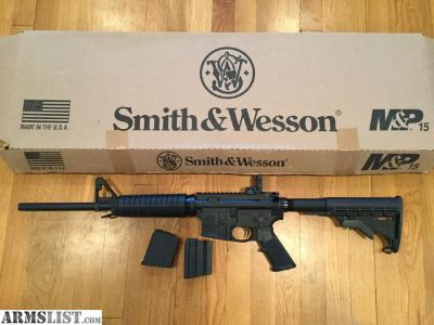 For Sale: S&W 15AR
