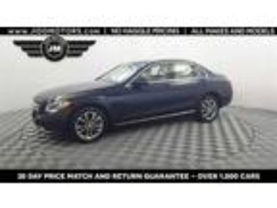 Used 2016 Mercedes-Benz C-Class Blue, 13.9K miles