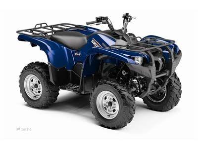 2009 Yamaha Grizzly 550 FI Auto. 4x4 EPS ATV Utility ATVs Milford, NH