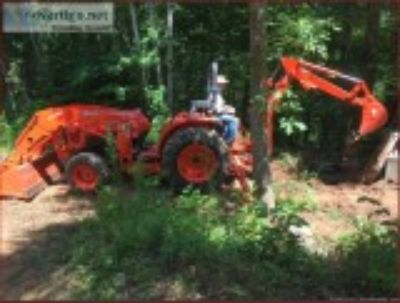 Backhoe and Tractor work
