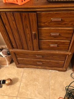 Dresser and chest of drawers