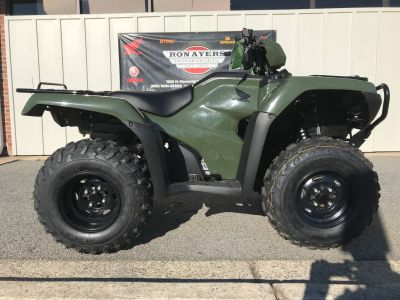 2018 Honda FourTrax Foreman 4x4 ATV Utility Greenville, NC