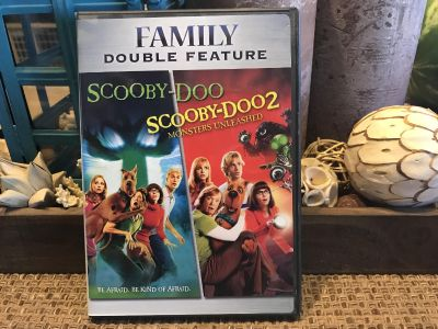 Scooby-Doo Double Feature DVD