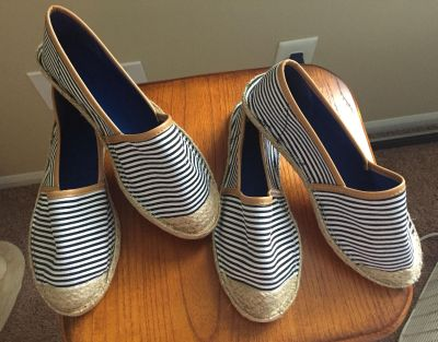 Size 6 and 7 espadrilles