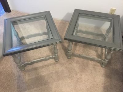 Pottery barn, refinished night stands