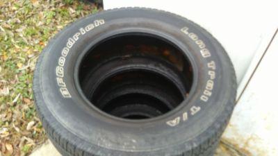 bf Goodrich tires245/70r17
