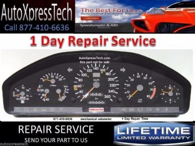 Sell Mercedes S420 S320 Class Instrument Cluster REBUILD REPAIR SERVICE READ! motorcycle in Holbrook, Massachusetts, United States, for US $129.99