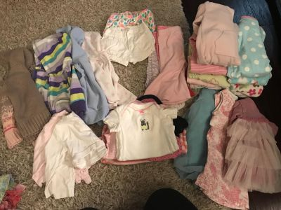 Girl clothes size 6 months