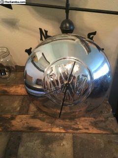 VW Big Logo Hubcap Clock