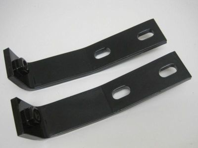 Find 1958 thru 1960 Corvette Rear Bumper Brackets Original Powder Coated Satin Black motorcycle in Edmonds, Washington, US, for US $149.99