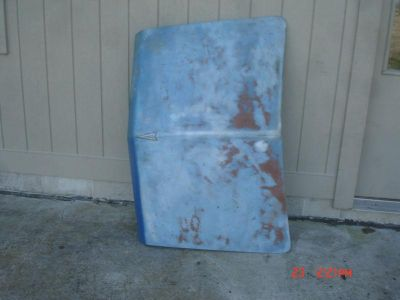 Find 1965 1966 pontiac catalina 4 door trunk lid nice one! have full size stuff too motorcycle in Northwood, Ohio, US, for US $150.00