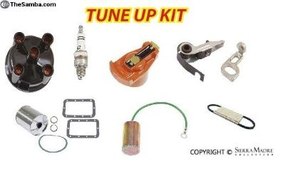 Engine Tune Up Kit, Cast Iron Distributor, 912 (65
