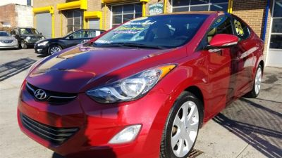2012 Hyundai Elantra GLS (Red Allure)