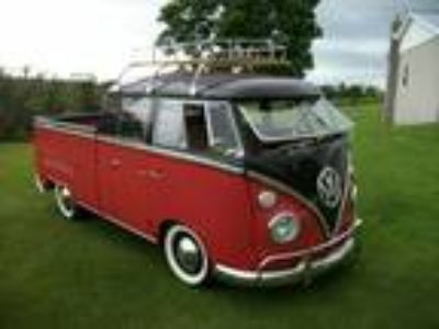 1967 Volkswagen Bus Vanagon Double Cab Deluxe Manual