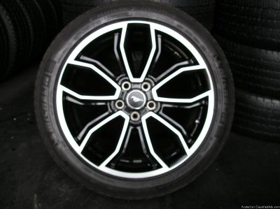 4 20 inch mustang WHEELS AND TIRES atlanta (with shipping available