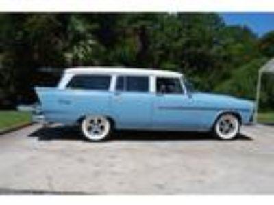 1956 Plymouth Suburban Wagon Blue