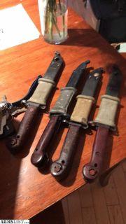 For Sale: Romanian AK Bayonets